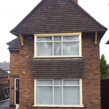 old aluminium windows